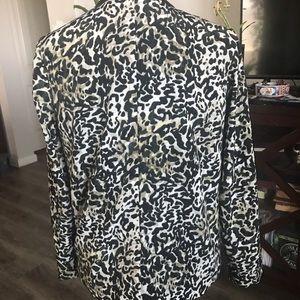 Mossimo Supply Co. Jackets & Coats - Leopard print blazer